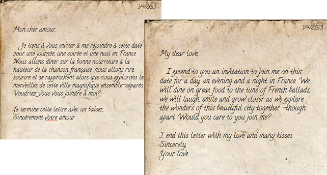 Love Letter Format John Gray John Wesley Jarvis Manuscript – How to Write Romantic Letters