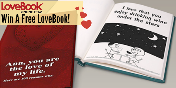 Giveaway: LoveBook, Create a Personalized Love Story for ...
