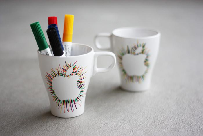 apple mug - Mug Design Ideas