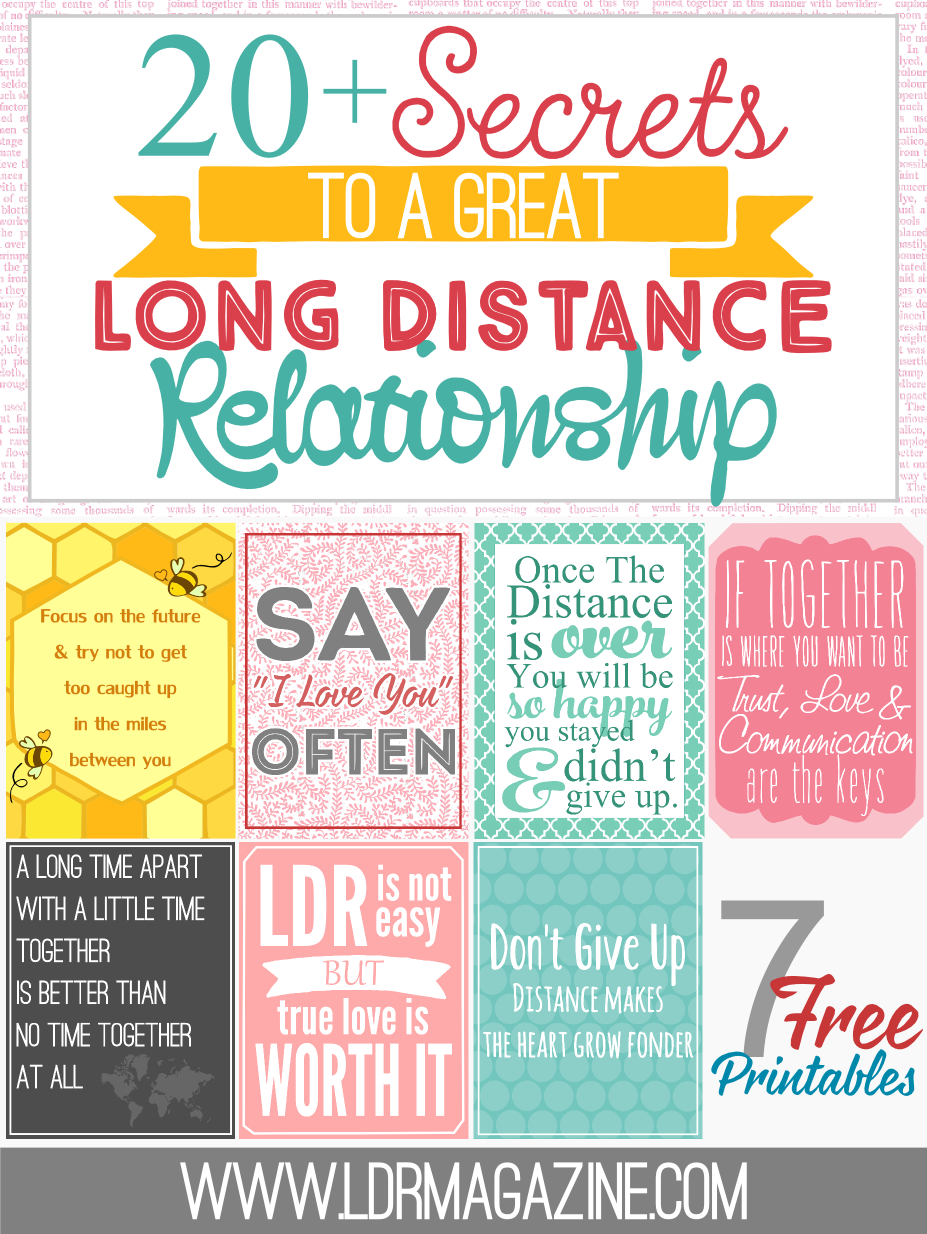 How to stay faithful in a long distance relationship