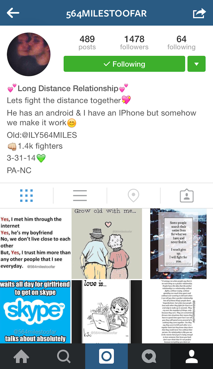 Bio Love Quotes 5 Long Distance Instagram Accounts You Must Follow  Ldr Magazine