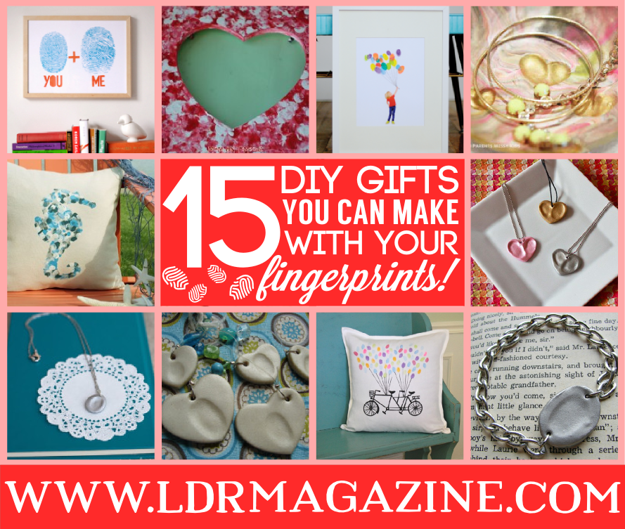 15 DIY Gifts You Can Make With Your Fingerprints - LDR Magazine