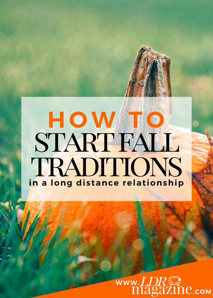 How to Start Fall Traditions In a LDR pin