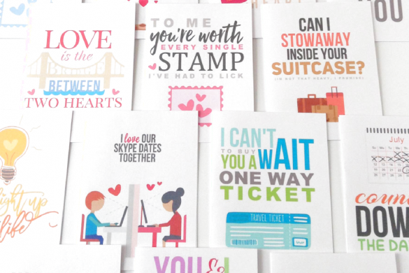 long distance relationship cards free