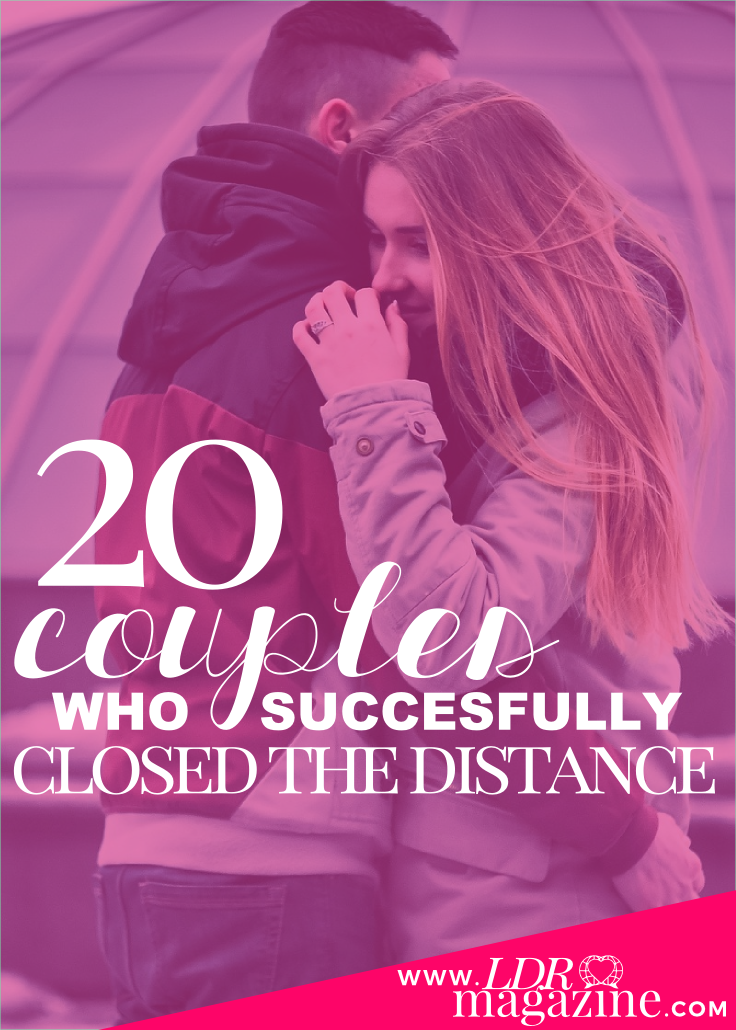 20 couples who succesfully closed the distance