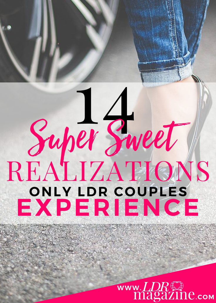 Super sweet realizations only LDR couples experience PIN