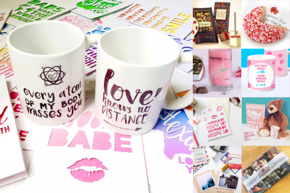 Romantic gifts for long distance relationships