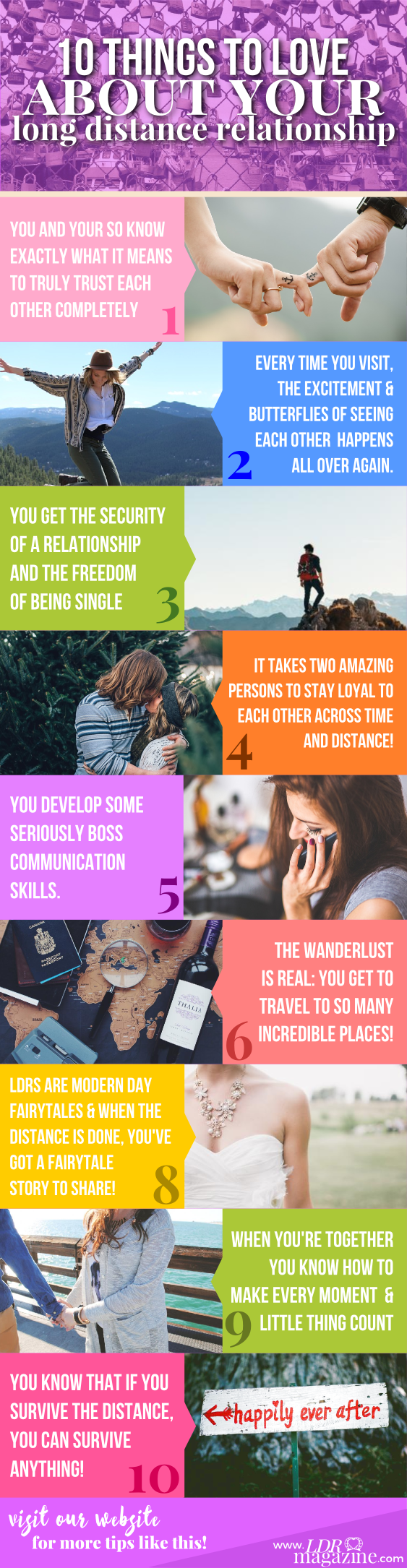 10 things to love about your LDR