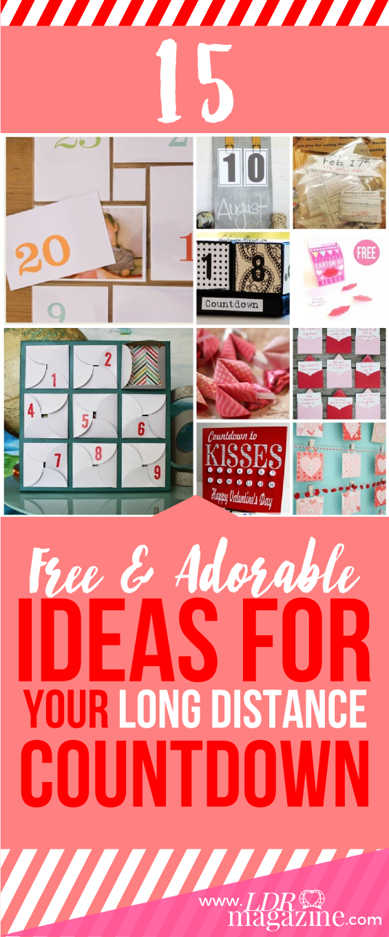 15 Free And Adorable Ideas For Your LDR Countdown
