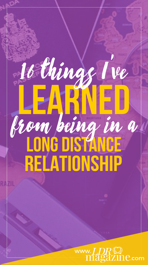 1Learned From Being In A Long Distance Relationship